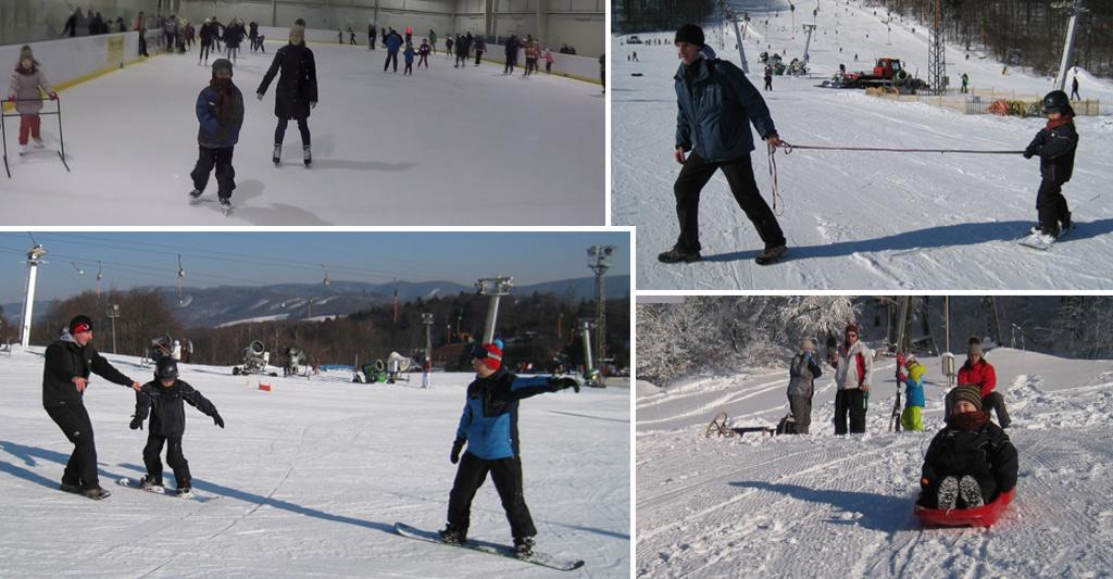 Korčuľovanie, sánkovanie a snowboardovanie s autizmom