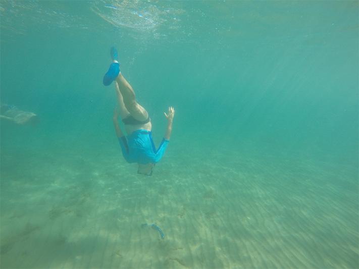 Autizmus a potápanie sa v mori